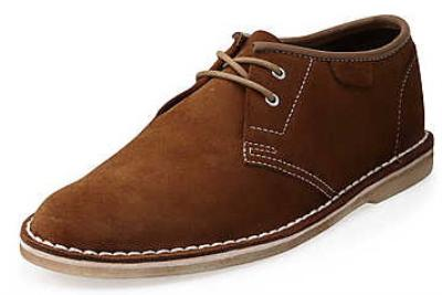 Picture of Clarks Jink Suede Oxford (Chestnut)