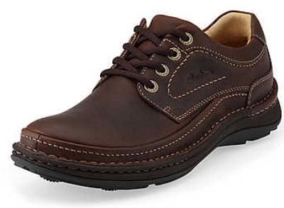 Picture of Clarks Nature Three Lace Oxford (Brown)