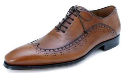 Picture of Mezlan Fiano Oxford (Tan)