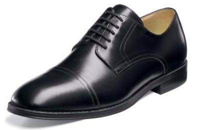 Picture of Nunn Bush Kirkland Cap Toe (Black)