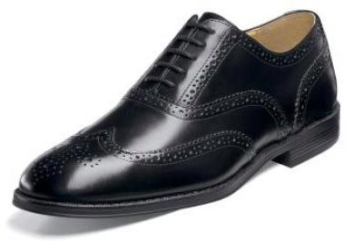 Picture of Nunn Bush Kingsbridge Wingtip (Black)