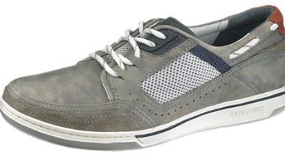 Picture of Sebago Triton Sport Boat Shoe (Grey)