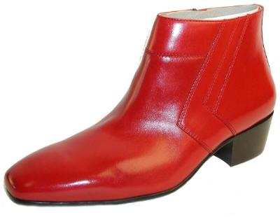 Picture of Giorgio Brutini Black/Jack Boot 15548 (Red)
