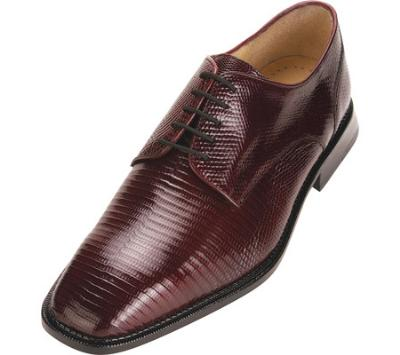 Picture of Belvedere Olivo Lizard Oxford (Burgundy)