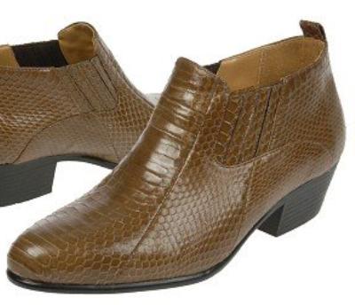Picture of Giorgio Brutini Snake Gore Boot 150646 (Taupe)