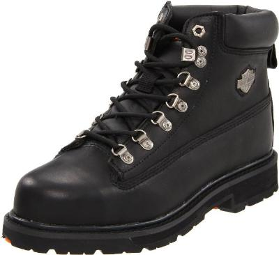 Picture of Harley Davidson Drive Boot (Steel Toe) (Black)