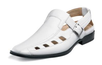 Picture of Stacy Adams Marston Sandal (White)