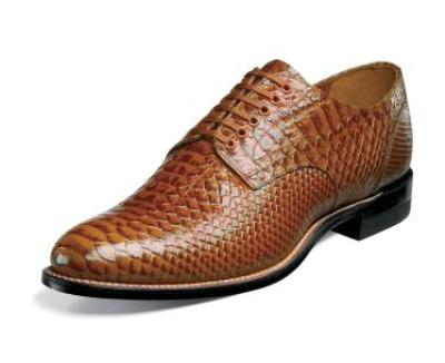 Picture of Stacy Adams Madison Anaconda Oxford (Tan)