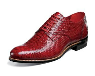 Picture of Stacy Adams Madison Anaconda Oxford (Red)