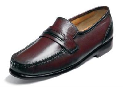 Picture of Nunn Bush Bentley Softy Slipon (Burgundy)