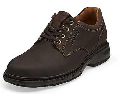 Picture of Clarks Un Centre Oxford (NuBuck)