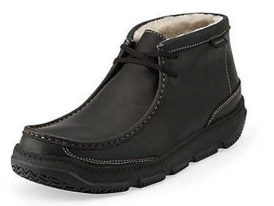 Picture of Clarks Drift Fleece Lined Demi Boot (Black)