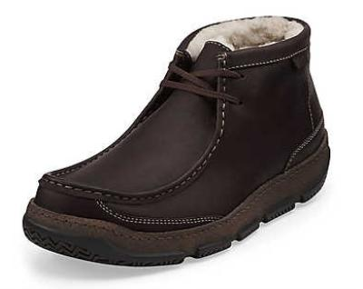 Picture of Clarks Drift Fleece Lined Demi Boot (Brown)