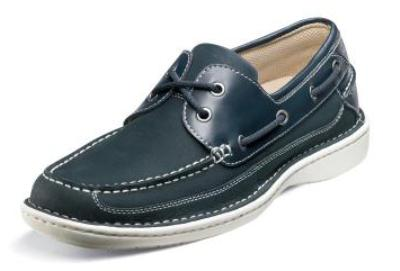 Picture of Nunn Bush Squall Boat Shoe (Navy)