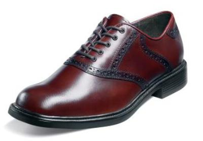 Picture of Nunn Bush Macallister Saddle Oxford (Brown)