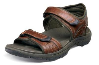 Picture of Nunn Bush Breaker Sandal (Cognac)