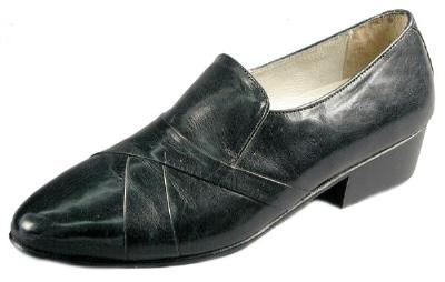 Picture of Giorgio Brutini Stack Heel Slipon 24461 (Black)