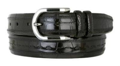 Picture of Mezlan 8869 Belt Alligator (Black)
