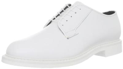 Picture of Bates 0131 Lites Leather Oxford (White) M