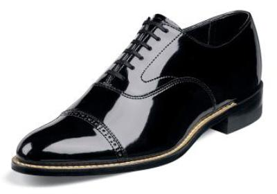 Picture of Stacy Adams Concorde Cap Toe Oxford (Black)