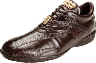 Picture of Belvedere Bene Ostrich Oxford (Brown)