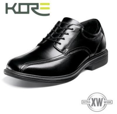 Picture of Kore Bartole St Bike Toe Oxford (Black)
