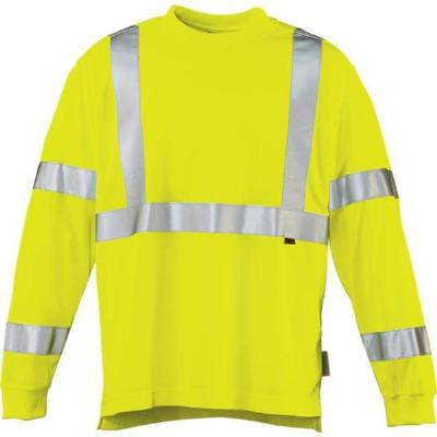 Picture of Wolverine Caution Long Sleeve Tee (Green)