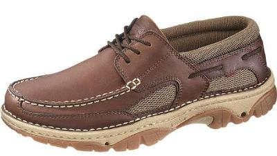 Picture of Wolverine C3 Water Moc Boat Shoe (Briar) 7480