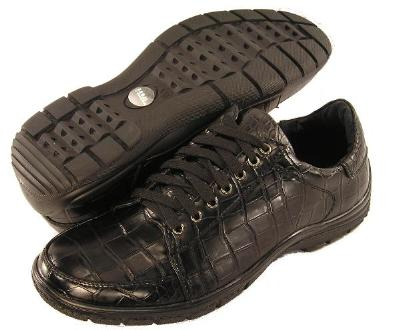 Picture of Trevi Croco Sport Oxford (Black)