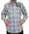 Picture of Culture Plaid Designer Shirt (Black/Grey)