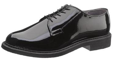 Picture of Bates 942 Lites Hi Gloss Oxford (Black)