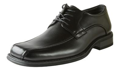 Picture of Bass Albany Bike Toe Oxford (Black)