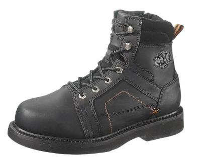 Picture of Harley Davidson Pete Boot (Steel/Toe) Black