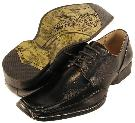 Picture of Majestic Fashions Lace Oxford # 22683 (Black)