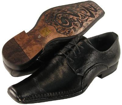 Picture of Majestic Fashions Plain Toe Oxford 75297 (Black)