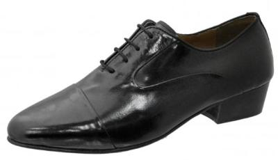 Picture of Giorgio Brutini Bersky Stack Heel Oxford (Black)