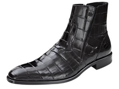 Picture of Mezlan Belucci Alligator Boot (Black)