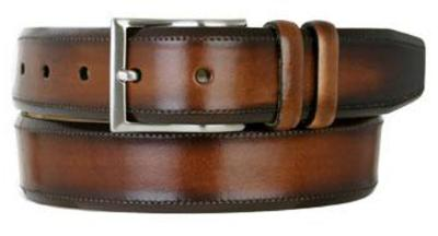Picture of Mezlan 8858 Belt Calfskin (Two/Tone)