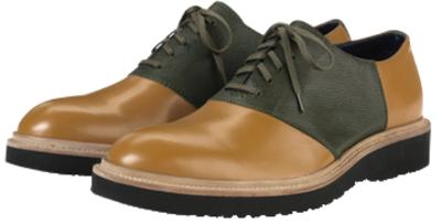 Picture of Cole Haan Martin Wedge Saddle Oxford