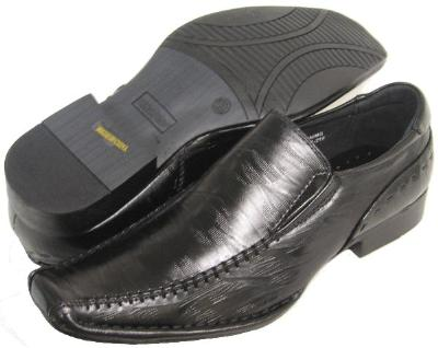 Picture of Bonafini Etched Distressed Slipon (Black)