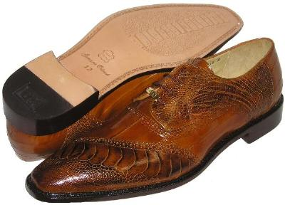 Picture of Belvedere Nino Ostrich EEL Oxford