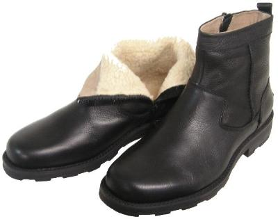 Picture of Florsheim Trektion Shearling Lined Zip Boot (Black)