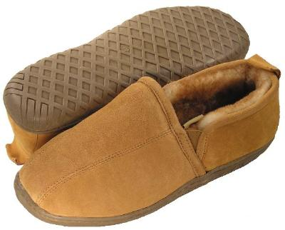 Picture of Ciabatta Sheepskin Roma Slipper (Tan) Men's