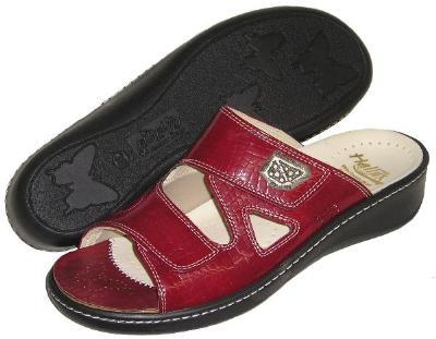 Picture of Fidelio Hallux Fabia Bunion Relief Sandal 434003 (Red)