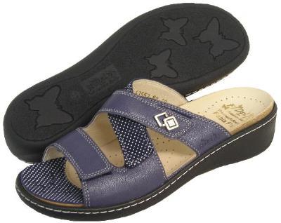 Picture of Fidelio Hallux Fabia Bunion Relief Sandal 43552 (Blue)