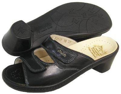 Picture of Fidelio Hallux Fabia Bunion Relief Sandal 33517 (Black)