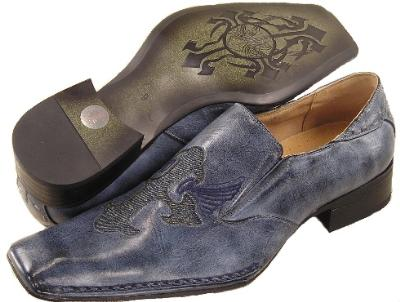 Picture of Bravo Fashions Poe Crest Slipon (Blue)
