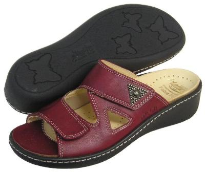 Picture of Fidelio Hallux Fabia Bunion Relief Sandal 33709 (Bordo)