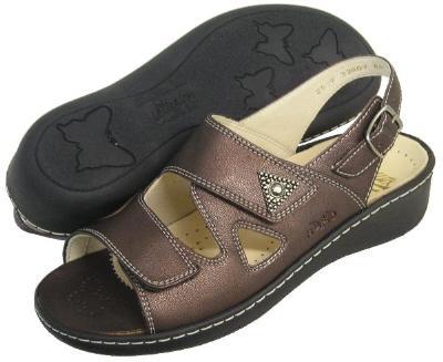 Picture of Fidelio Hallux Fabia Bunion Relief Sandal 33809 (Bronze)